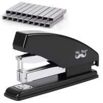 Mr. Pen- Stapler, Heavy Duty Stapler, Stapler with 3600 Staples, 60 Sheet Capacity, Desk Stapler, Office Staplers, Office Supplies, Standard Stapler, Stapler with Staples, One Touch Stapler, Staplers