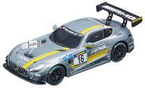Carrera GO!!! 64061 Mercedes-AMG GT3, No.16 Slot Car Racing Vehicle