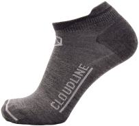 CloudLine Merino Wool Athletic Tab Ankle Running Socks Light Weight - For Men & Women