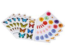 American Greetings Butterflies and Flowers Sticker Sheets (10 Piece)