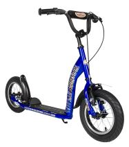 BIKESTAR Kick Scooter with Brakes, Mudguard and air Tires for Kids 7 Year Old | Sport Edition with Alloy Wheels 12 Inch |