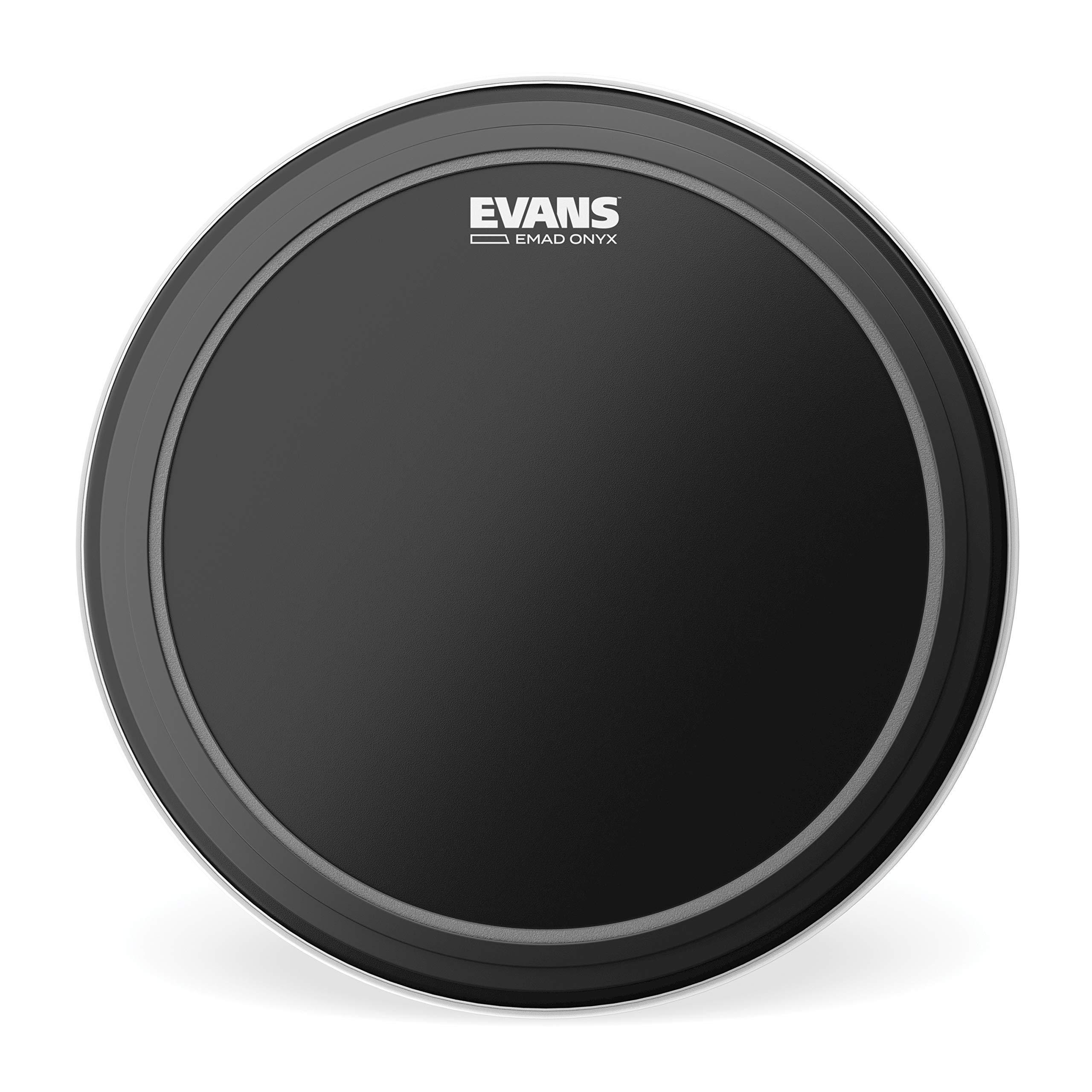 Evans Heads BD26EMADONX 26-Inch EMAD Onyx Bass Drum Heads