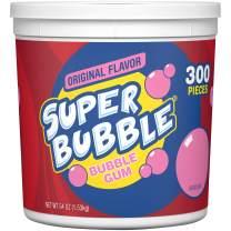 Super Bubble Gum, Original, 54 Ounce Tub
