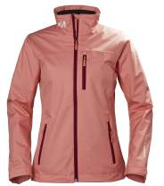 Helly-Hansen Crew Midlayer Fleece Lined Waterproof Windproof Breathable Rain Coat Jacket