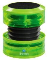 iHome IM60QN Rechargeable Mini Speaker - Green