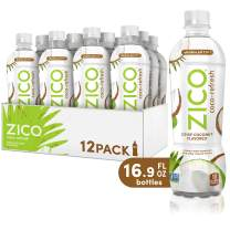 ZICO Coco-Refresh Crisp Coconut Flavored, 16.9 fl oz (Pack of 12)