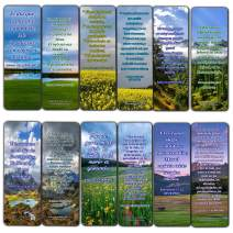 Spanish Inspirational Bible Verses for Cancer Patients Bookmarks (12-Pack)