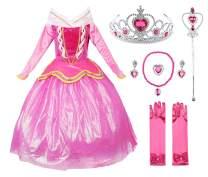 JerrisApparel Princess Dress Girl Party Dress Ceremony Fancy Costume