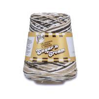 Lily Sugar'n Cream Cotton Cone Yarn, 14 oz, Chocolate Ombre, 1 Cone