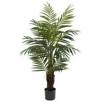 """Nearly Natural 5415 Areca Palm Tree, 4-Feet, Green,10.5"""" x 10.5"""" x 40"""""""