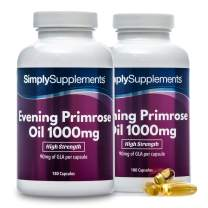 Evening Primrose Oil 1000mg | 360 Capsules in Total | May Support hormonal Balance
