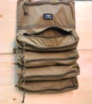 Atlas 46 Dual Zip Tool Roll Pouch - XL, Coyote | Made in the USA