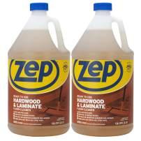 Zep Hardwood & Laminate Floor Cleaner 128 Ounce ECZUHLF1282 (Pack of 2) Pro Grade Formula