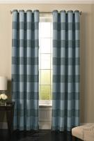 "BEAUTYREST 52"" x 95"" Insulated Darkening Single Panel Grommet Top Window Treatment Living Room, Robin Egg Blue"