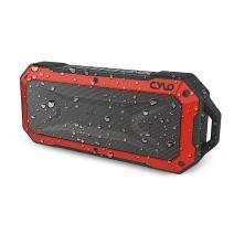 CYLO Waterproof Bluetooth Speaker Rock Solid IPX67 Portable with Powerful 2 X 3.0 Watt Output, 33-Foot Bluetooth Range with Waterproof Bluetooth Speaker Rugged Heavy-Duty Shockproof Capability