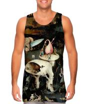 Yizzam- Hieronymus Bosch The Garden of.-Tshirt- Mens Tank Top 1498