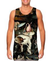 Yizzam- Hieronymus Bosch The Garden of.-Tshirt- Mens Tank Top 1498