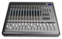 Rockville RPM1470 14 Channel 6000w Powered Mixer w/USB, Effects/14 XDR2 Mic Pres,Black