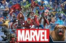 "Trends International Comics-Marvel Universe-Heroes, 22.375"" x 34"", Premium Unframed"