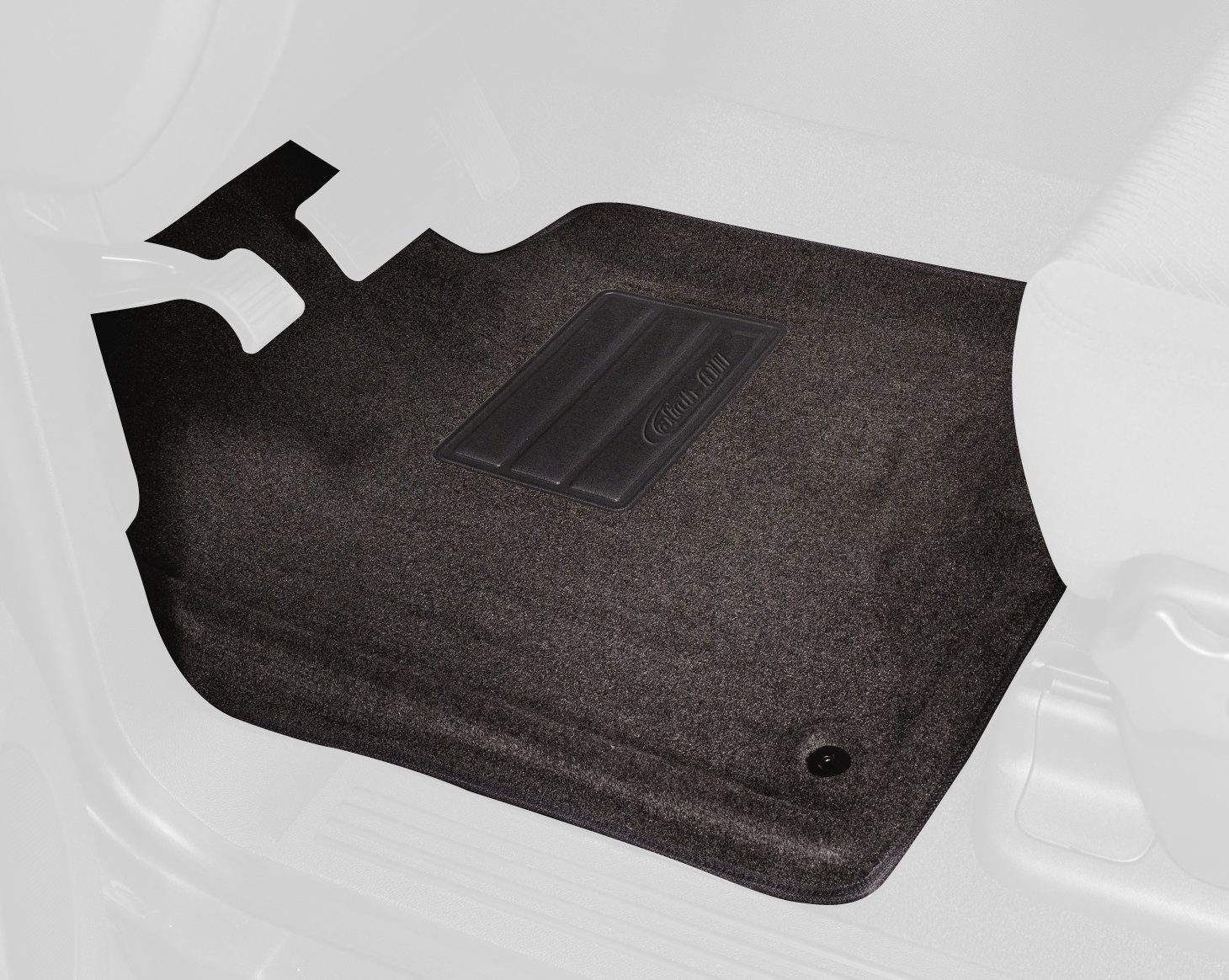 Lund 602143 Catch-All Carpet Charcoal Front Floor Mat - Set of 2