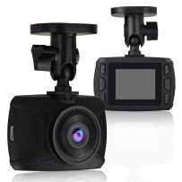 "Dash Cam WiFi Car DVR 1080P Full HD 1.5"" TFT LCD Mini Car Dashboard Camera 170° Video Recorder for Car Night Vision, G-Sensor, App Sharing, Motion Detection, Loop Recording and Security DVR WDR"