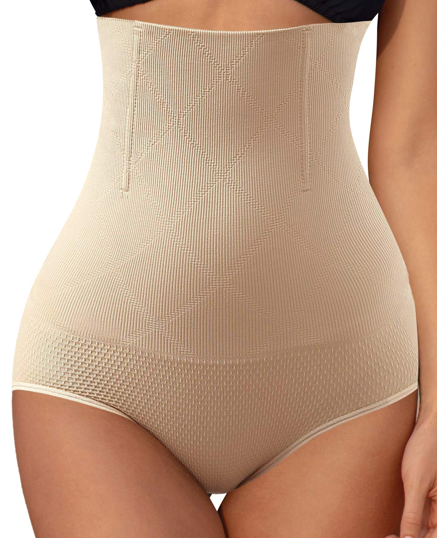Larry&Marry Shapewear for Women,High Waisted Tummy Firm Control Panties Slimming Body Shaper Underwear