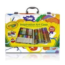 Crayola Inspiration Art Case Coloring Set, Kids Indoor Activities At Home, 140 Art Supplies