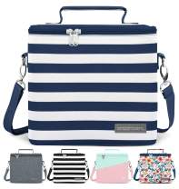 Simple Modern 4L Blakely Lunch Bag for Women & Men - Insulated Kids Lunch Box Stripes: Nautical