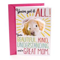 Hallmark Funny Romantic Mother's Day Card (Great Mom With Great Buns)