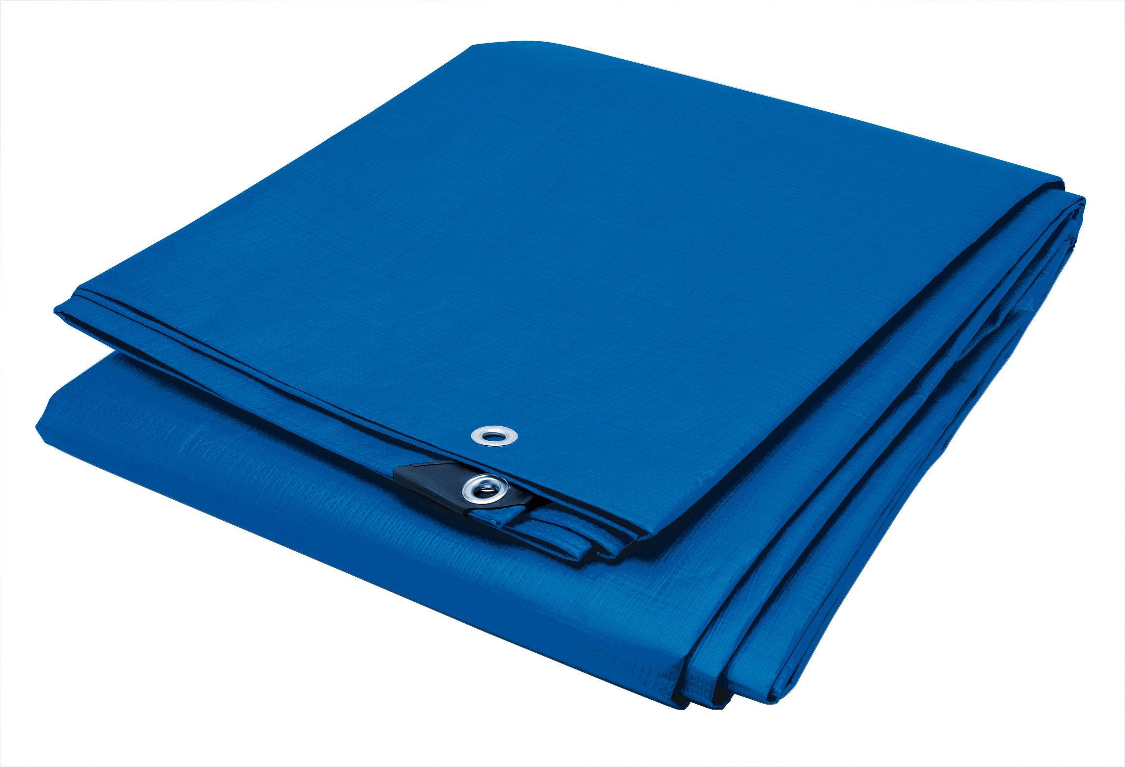 Performance Tool W6000 Reinforced Water Resistant Multi Purpose Blue Tarp 4 mil, 5 feet x 7 feet | Ideal for Tarpaulin Canopy Tent, Boat, RV Or Pool Cover | Perfect for Backpacking, Camping & Shelters
