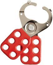 """Brady - 105718 Steel Lockout Hasp With Tab, 1"""" Inside Jaw Diameter"""