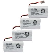 GEILIENERGY BBTY0651101 Battery Compatible with Uniden BT1007 BT-1007 BT904 BT-904 BT1015 BBTY0460001 BBTY0510001 BBTY0624001 BBTY0700001 Panasonic HHR-P506, HHR-P506A Cordless Phone(4-Pack)