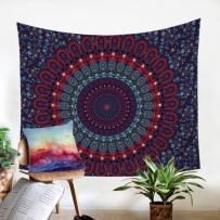 Sleepwish Purple Mandala Tapestry Hippie Wall Hanging Tapestry Bohemian Tapestries for Bedroom College Dorm Twin 85 x 55 inch