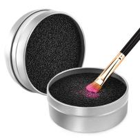 Luxspire Makeup Brush Cleaner Quick Wash Sponge Remover Color From Brush Makeup Cleaner Tool Switch Eye Shadow Color Dry Clean Box
