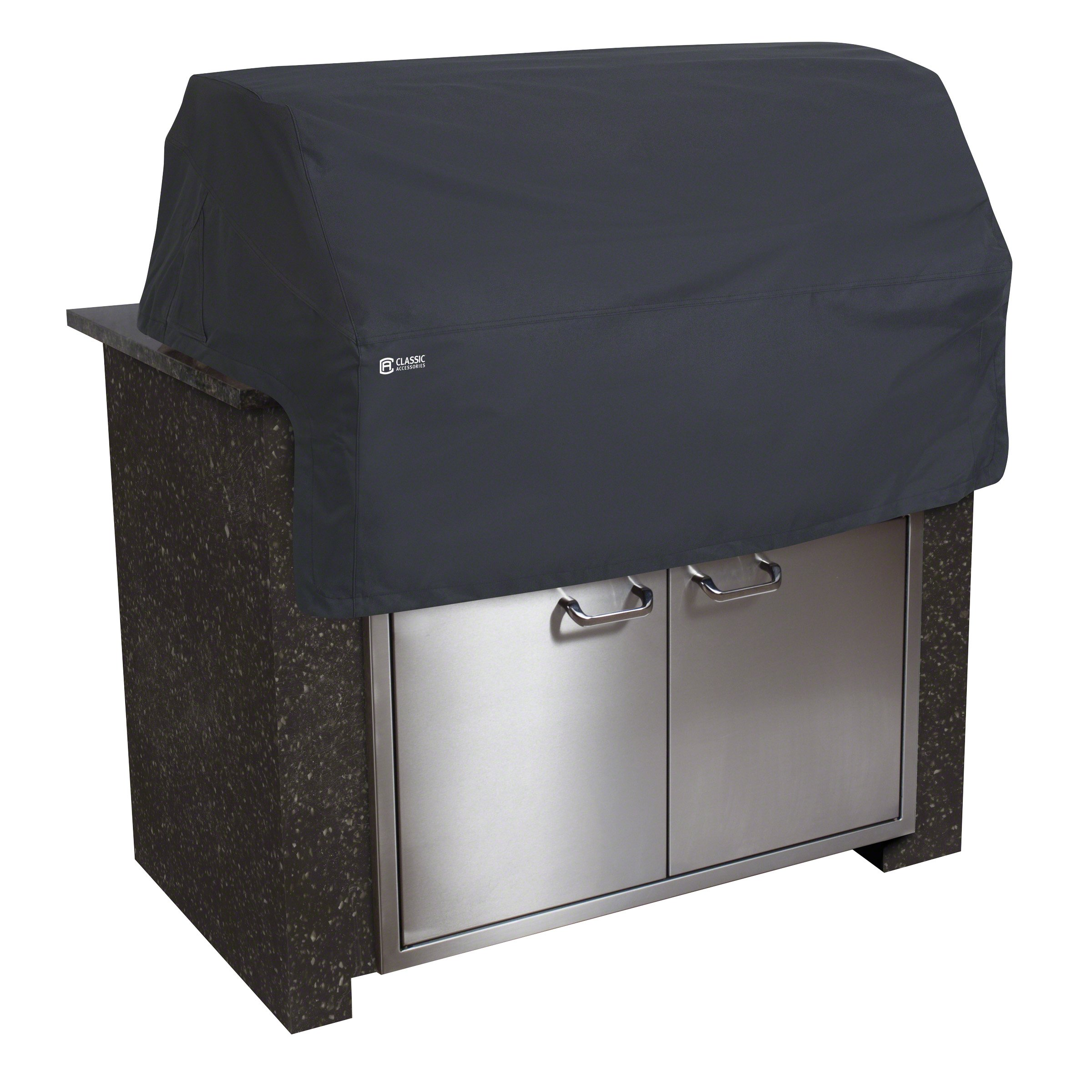 Classic Accessories Water-Resistant 57 Inch Built-In BBQ Grill Top Cover