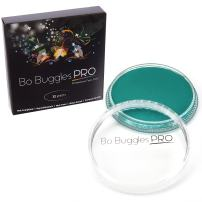 Bo Buggles Professional Teal 32g Face Paint, Classic Colors, Water Activated