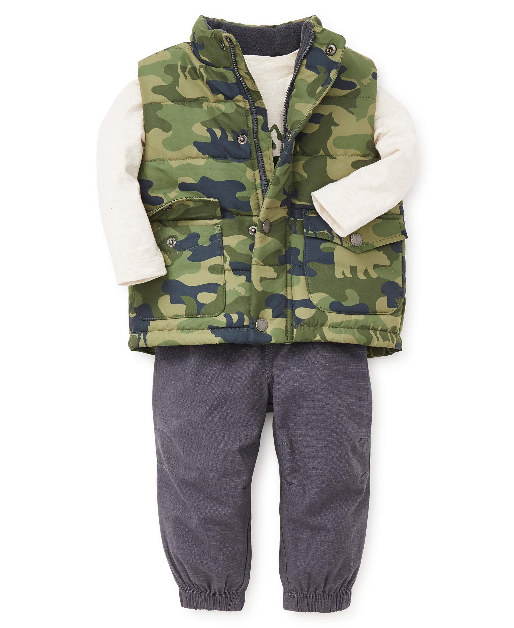 Little Me Baby Boys Jacket Set