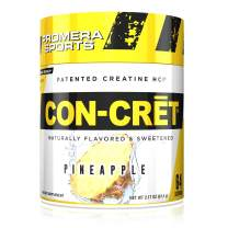 Promera Sports, CON-CRET Creatine HCl Powder, Micro-Dose Creatine, No Bloating, No Upset Stomach, No Water Retention, No Loading, Made in USA,Gluten-Free, Pineapple, 64 Servings