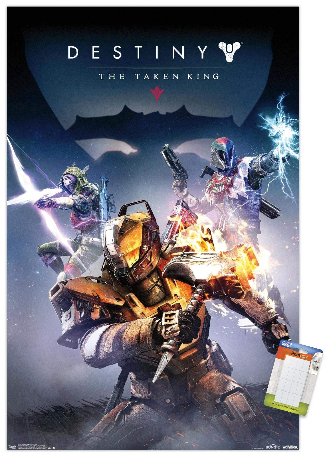 "Trends International Cover Poster Mount Destiny: Taken King - Key Art, 22.375"" x 34"", Premium Poster & Mount Bundle"