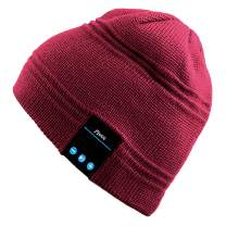Mydeal Wireless Bluetooth Beanie Hat Music Knitted Cap with Headphone Headset Earphone Stereo Speakers and Mic Hands Free for Outdoor Sports Running Walking Jogging Skiing Snowboard