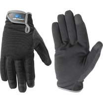 Wells Lamont Synthetic Leather Work Gloves, High Dexterity, Large (7700L)