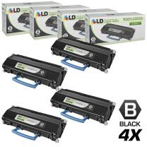 LD Remanufactured Toner Cartridge Replacement for Lexmark E Series E250A11A (Black, 4-Pack)