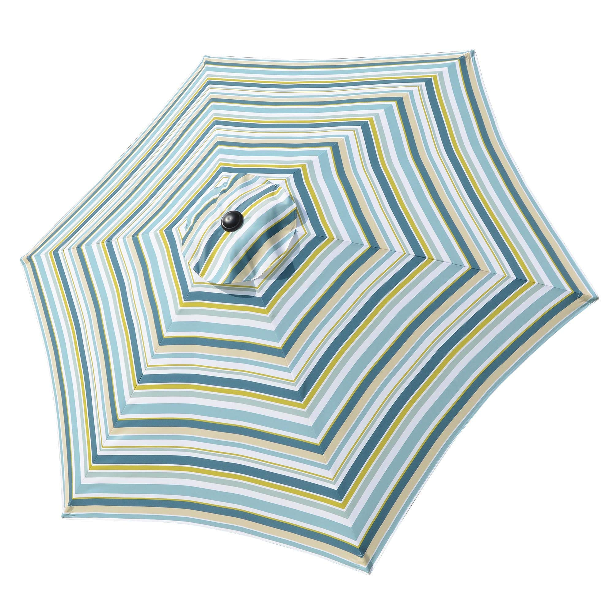 Yescom 9 Ft Patio Umbrella Replacement Canopy Market Table Top Sunshade Cover Garden