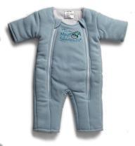 Baby Merlin's Magic Sleepsuit Microfleece (3-6 Months (12-18 lbs.), Blue)