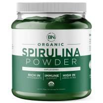 Spirulina Powder Organic 1kg/2.2lb - USDA Certified - RAW Nutrient Dense Over 70% Protein Per Serving - Purest Source Vegan Protein - Superfood - Rich in Vitamins and Minerals