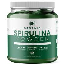 Spirulina Powder Organic 1kg/2.2lb - USDA Certified - RAW Nutrient Dense Over 70% Protein Per Serving - Purest Source Vegan Protein - Superfood - Rich in Vitamins and Minerals