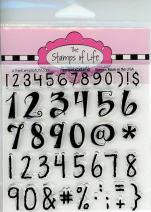 Numbers Fun and Creative Stamps for Card-Making and Scrapbooking Supplies by - Numbers2Stamp