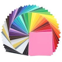 """Oracal Assorted 631 and 651 Vinyl - 48 Pack of Top Colors - 12"""" x 12"""" Sheets"""