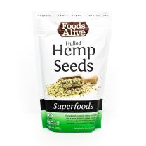 Hulled Hemp Seeds, Organic, 8oz (3-pack)