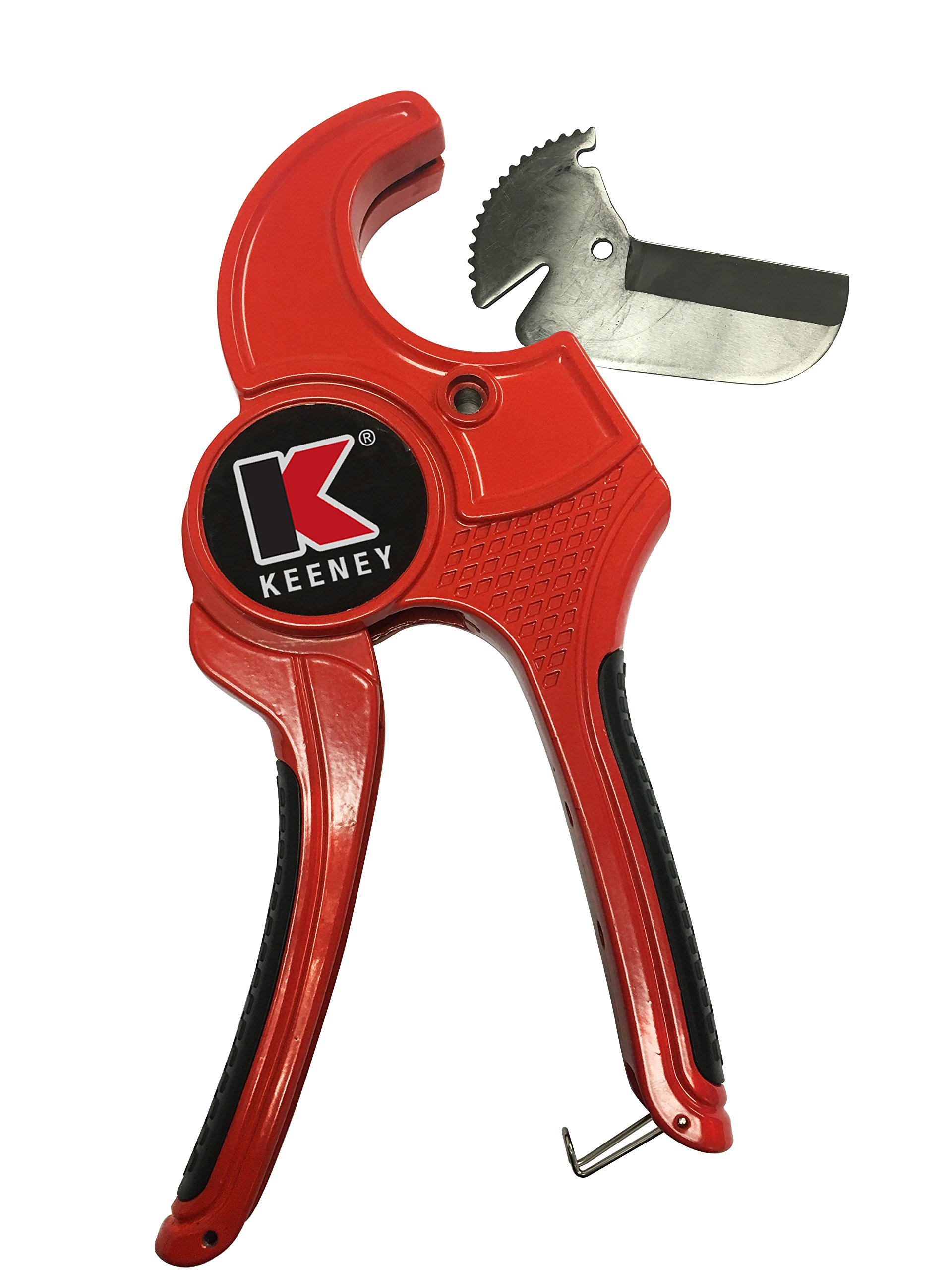 "Plumb Pak K840-102 Automatic Pipe Cutter, 2-1/2 in High Carbon Steel Blade, Aluminum Alloy Body, 2-1/2"", Red"